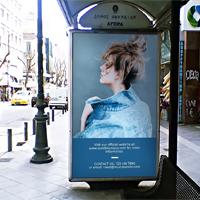 Billboard Bus Stop Mock-Up - PSD Template