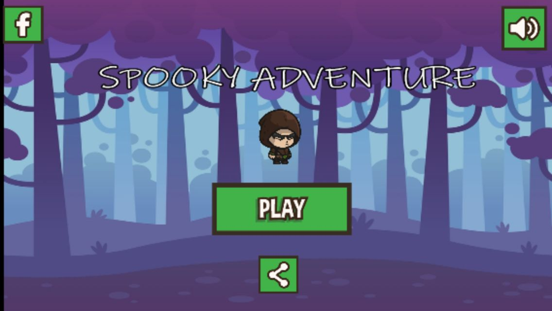 Spooky Adventure - Builbox Template Screenshot 1