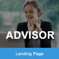 Advisor - Responsive HTML Landing Pages