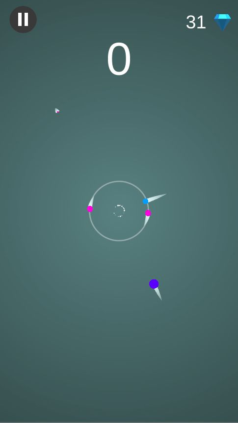 Color Orbit - Complete Unity Game  Screenshot 2