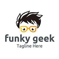 Funky Geek - Logo Template