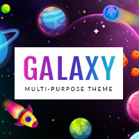 Galaxy - Responsive WordPress Theme