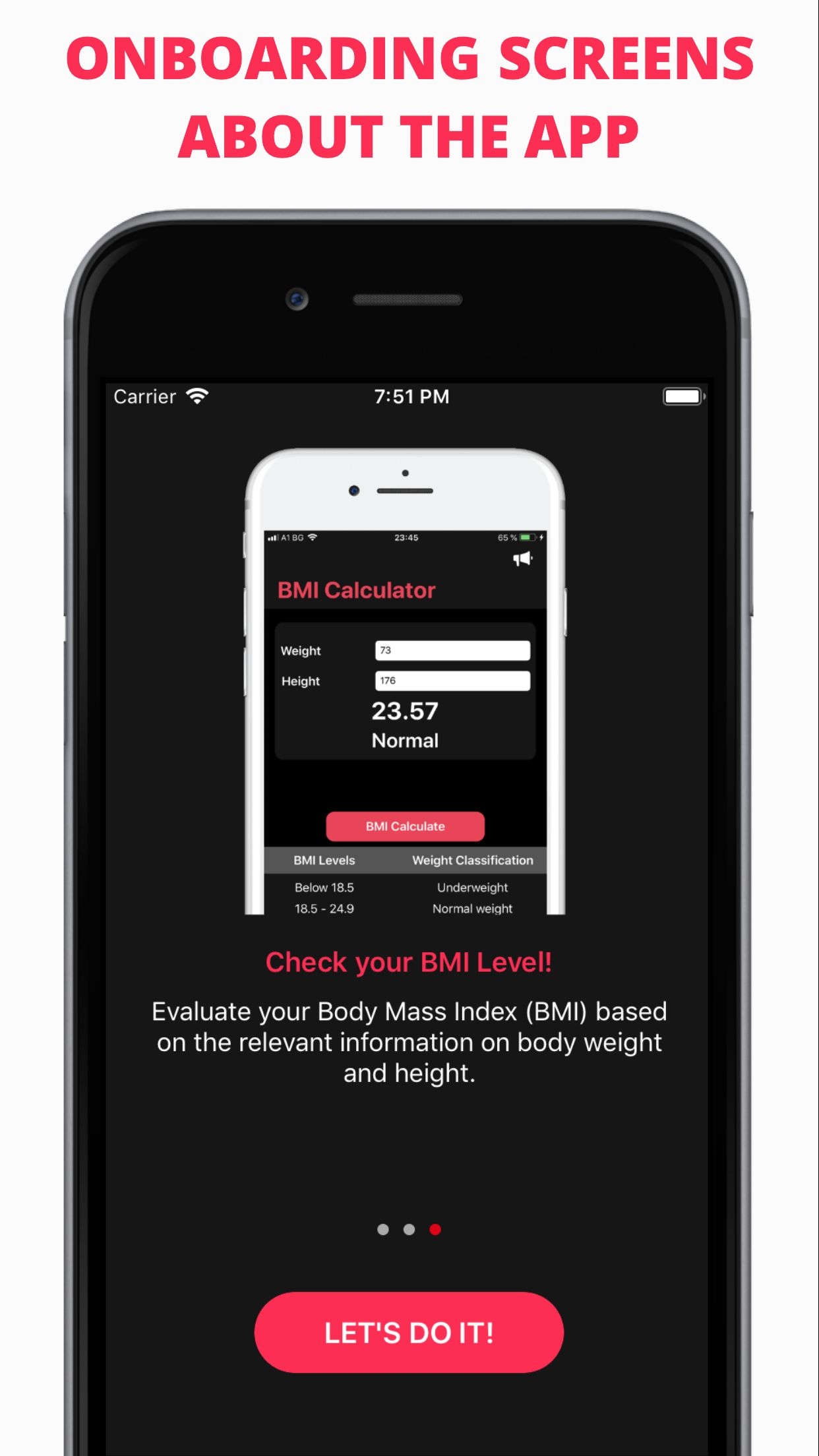Easy Workout - iOS Fitness Application  Screenshot 2