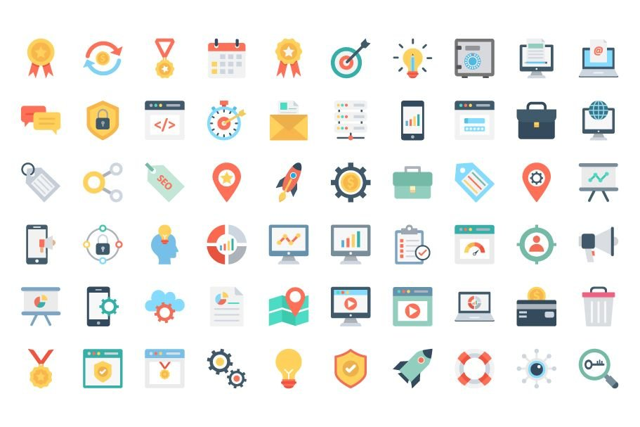 150 Web Design And Development Vector Icons Screenshot 2