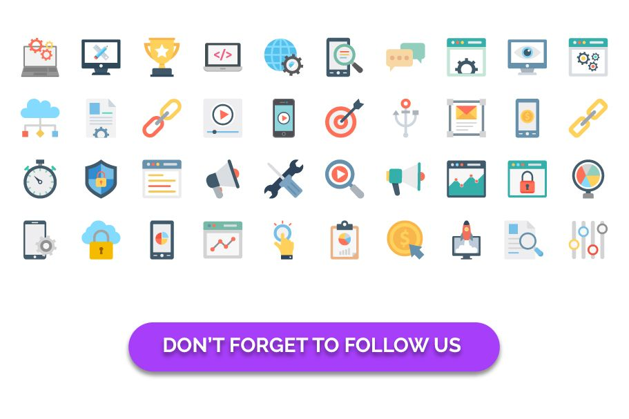 150 Web Design And Development Vector Icons Screenshot 3