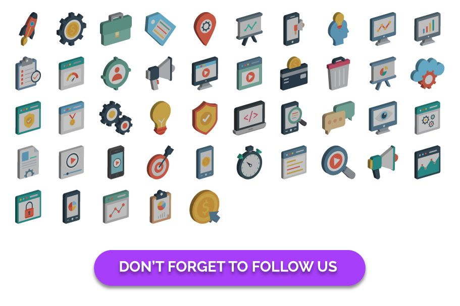 90 3D Web Design And Development Vector Icons Screenshot 2