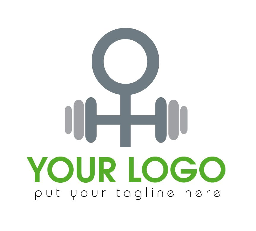 Fitness Gym Logo Screenshot 1