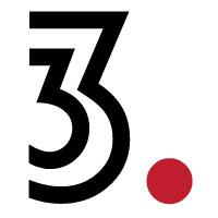 Threedot Three Number Logo