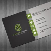 Modern Corporate Business Card