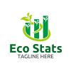 Eco Stats - Logo Template