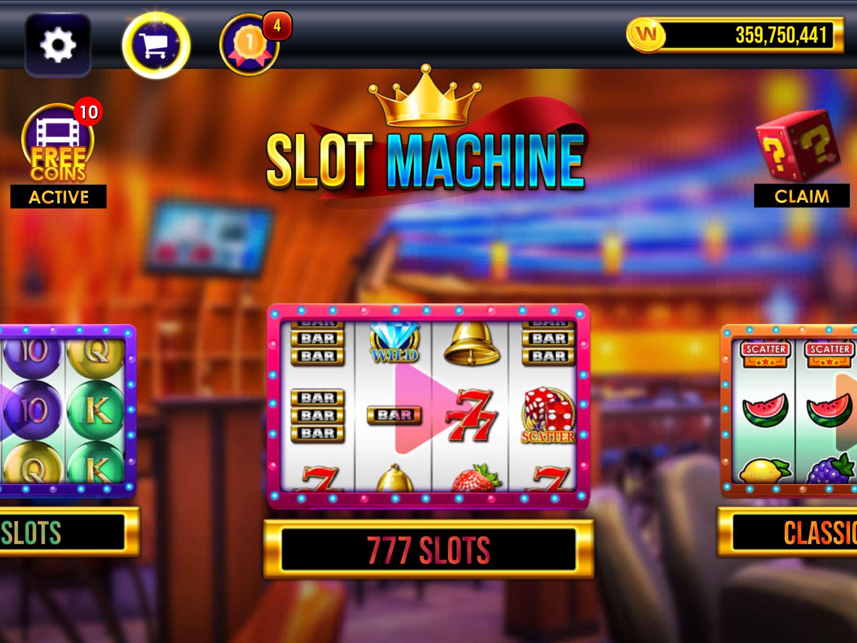 Unity slot machine template