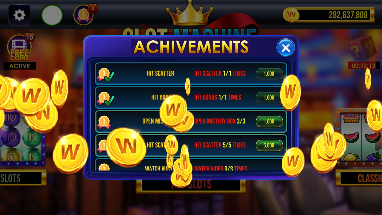 Slot Machine Unity Game