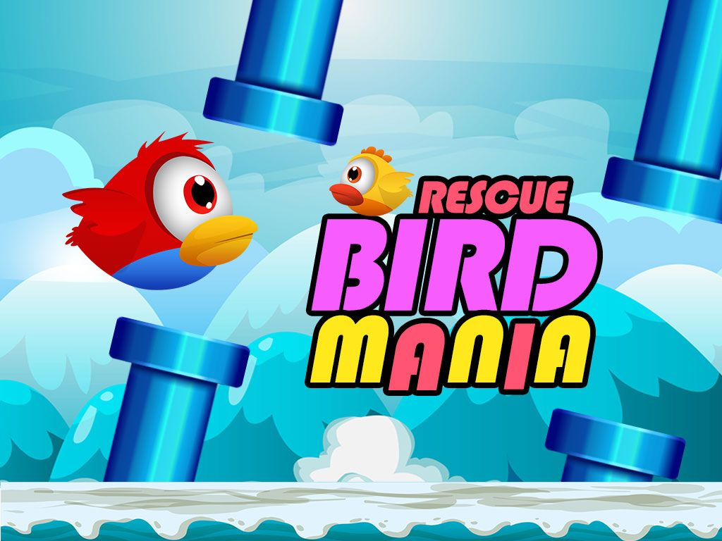 Rescue Bird Mania - iOS Source Code Screenshot 1