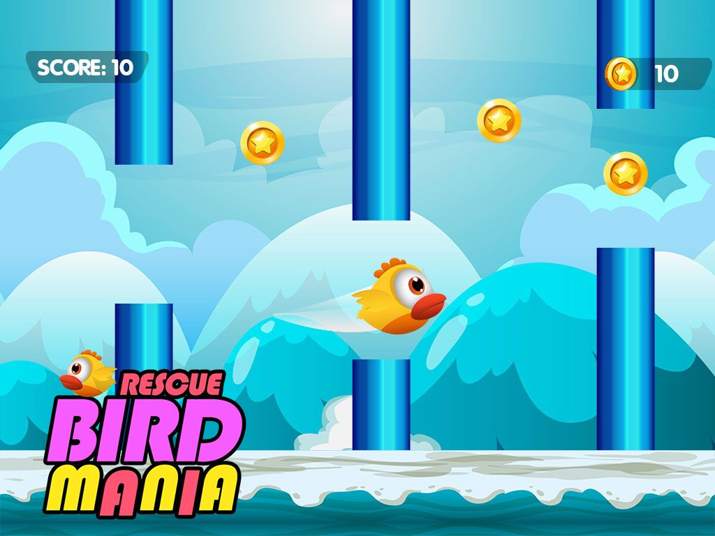 Rescue Bird Mania - iOS Source Code Screenshot 2