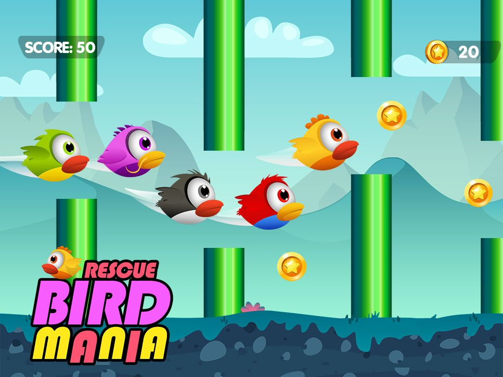 Rescue Bird Mania - iOS Source Code Screenshot 3