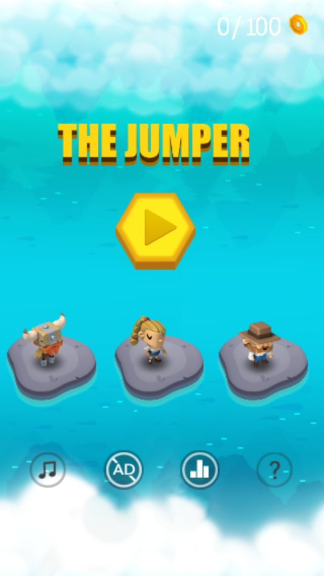 The Jumper Full Buildbox Game Tempalte Screenshot 2