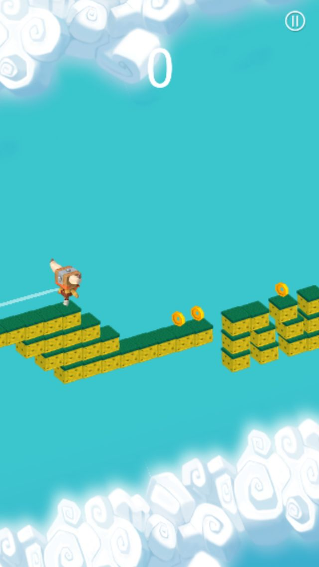 The Jumper Full Buildbox Game Tempalte Screenshot 5