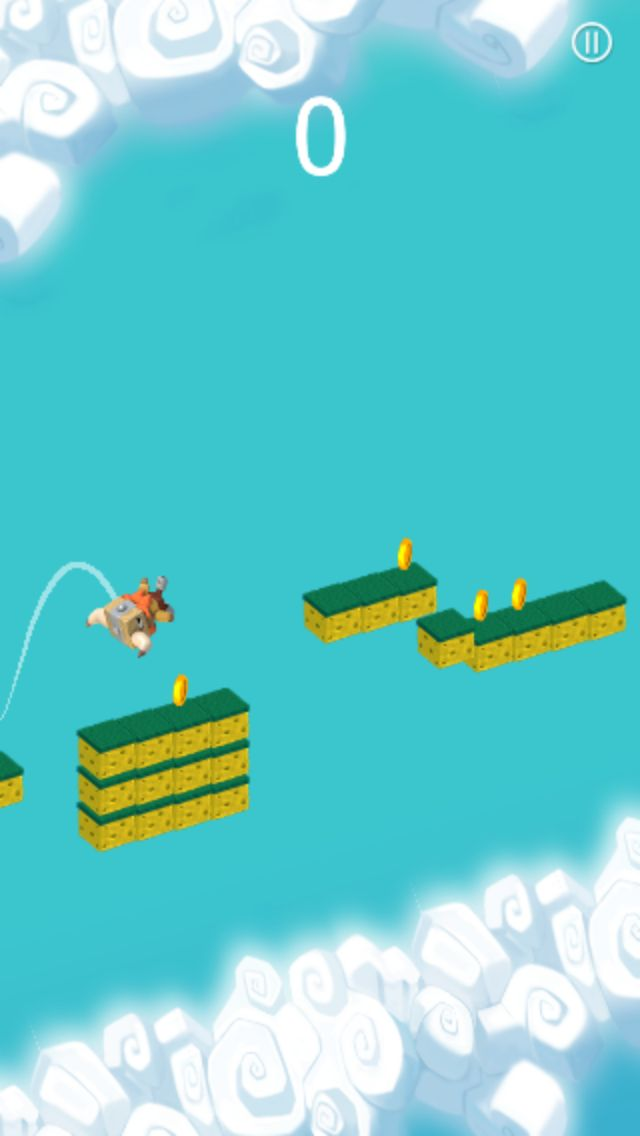The Jumper Full Buildbox Game Tempalte Screenshot 6