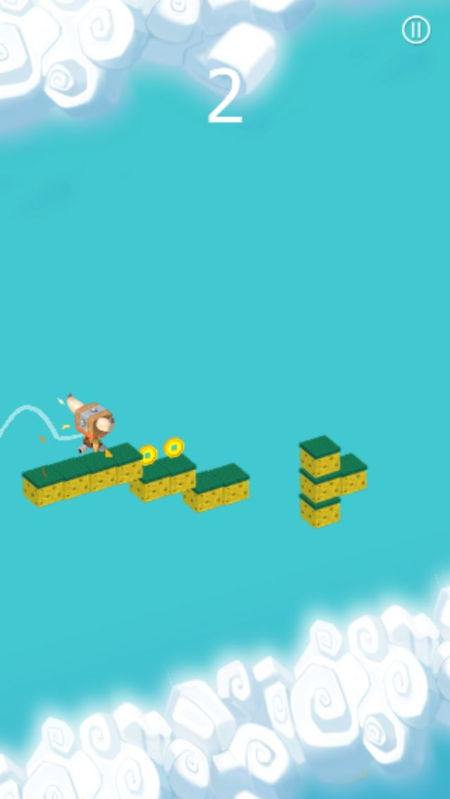 The Jumper Full Buildbox Game Tempalte Screenshot 7