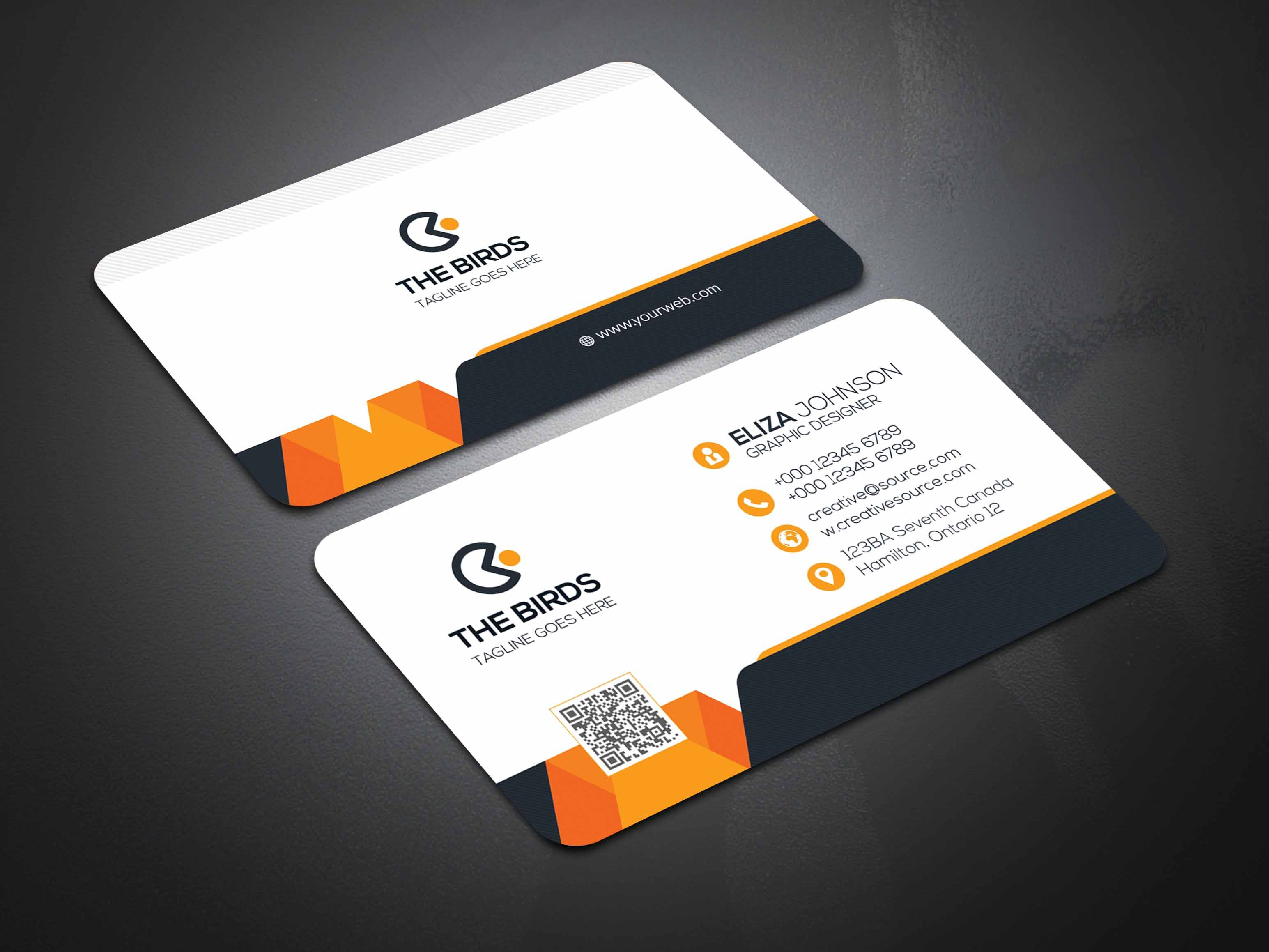 Stylish Business Card 4 Variation