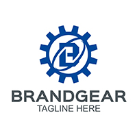 Brand Gear - Logo Template