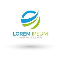 Circular Wave Logo Design