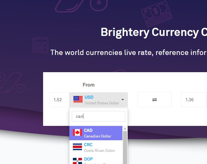Currency Exchange Script PHP