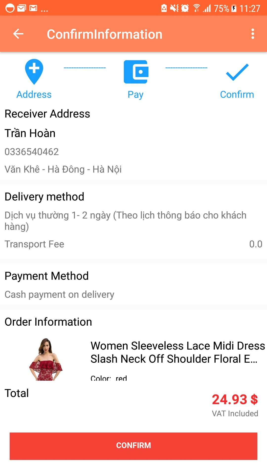 Shopping App - Android Source Code Screenshot 15