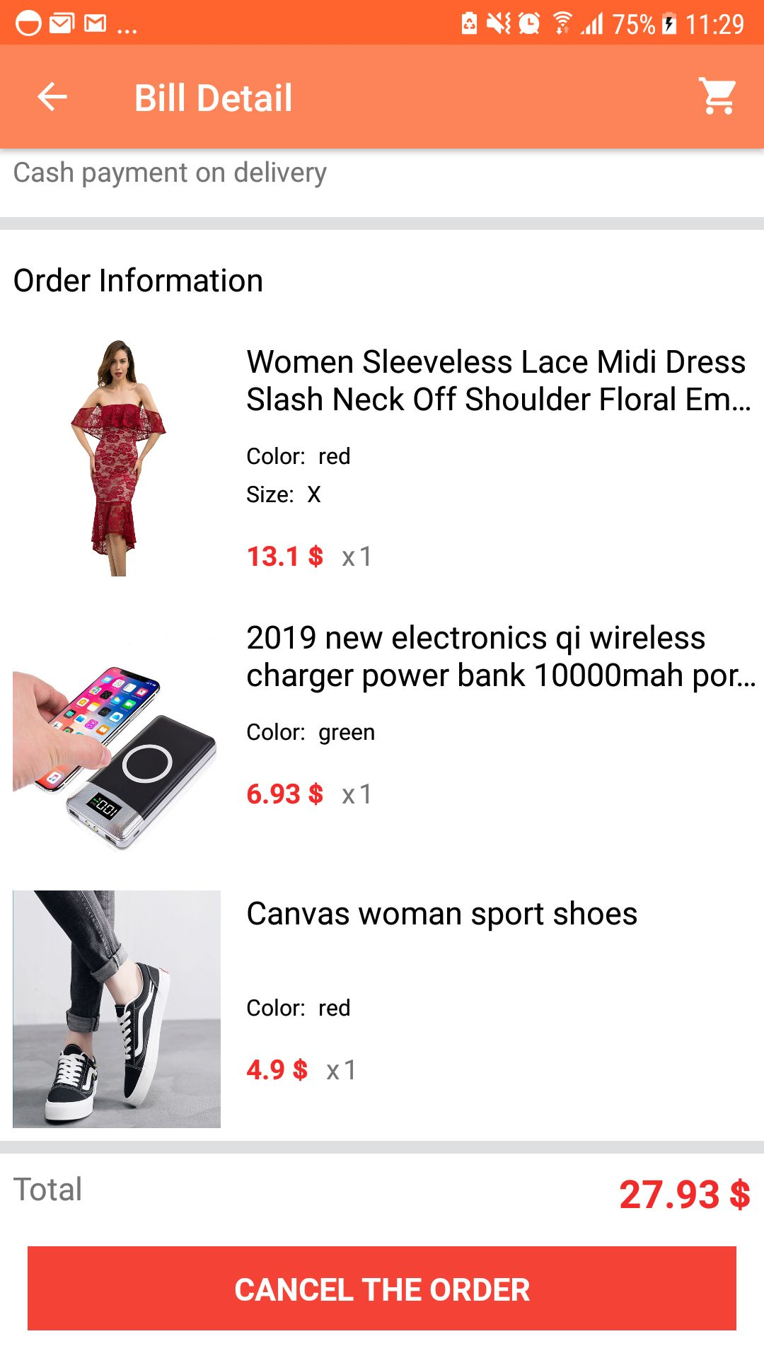 Shopping App - Android Source Code Screenshot 19