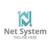 net-system-logo-template