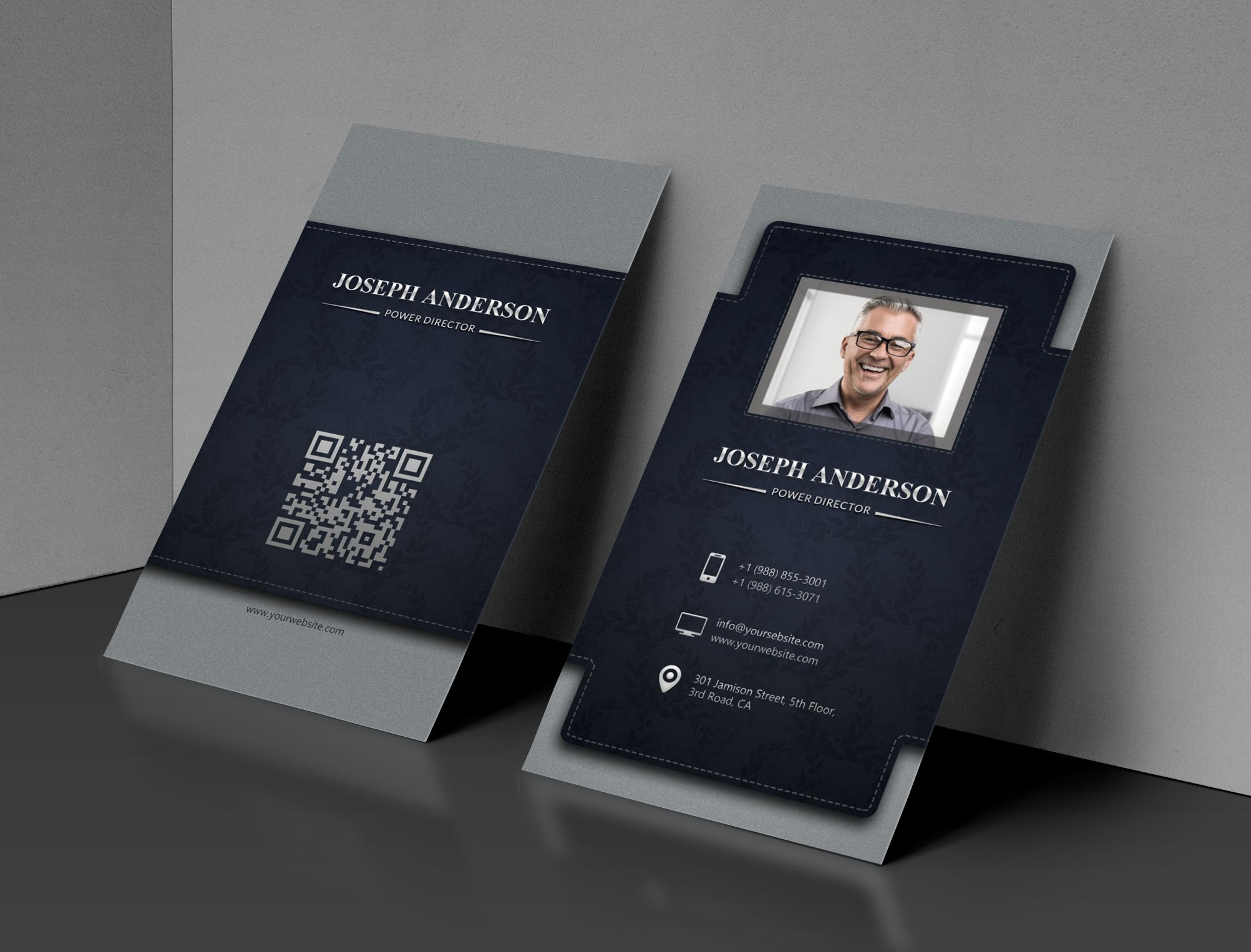 Corporate Business Card Screenshot 1