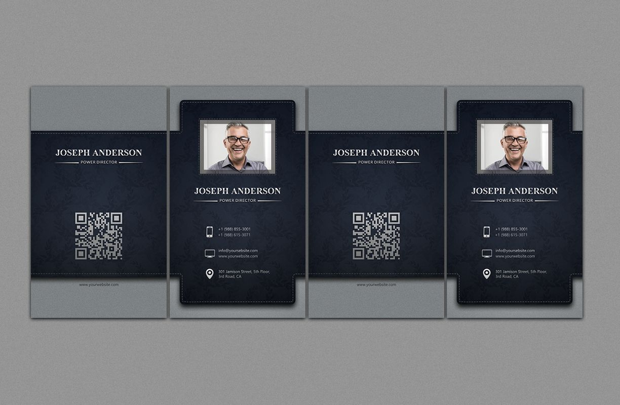 Corporate Business Card Screenshot 4