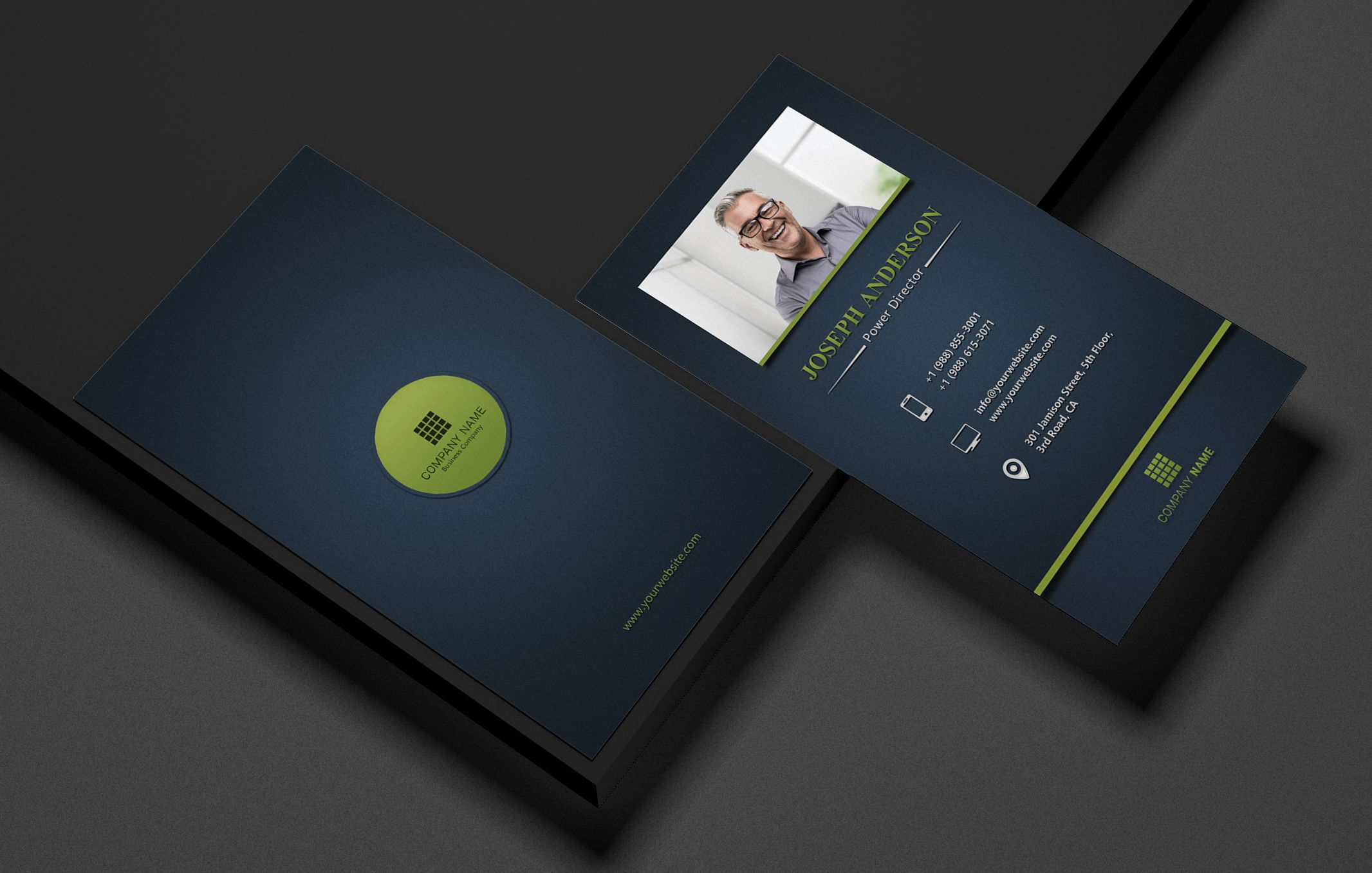 Creative Corporate Business Card Screenshot 1