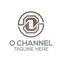 O Channel - Logo Template