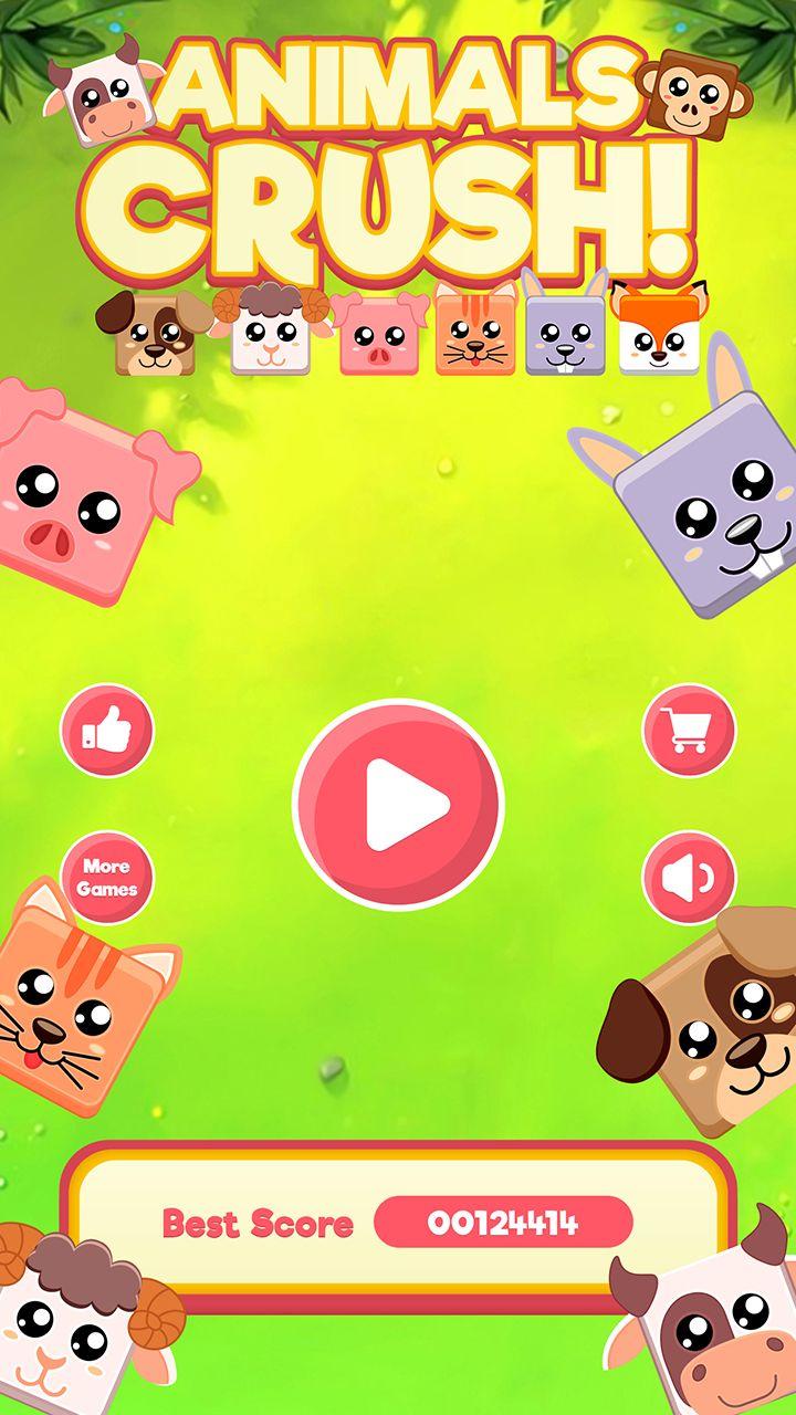 Animal Crush Match Three - Android Game