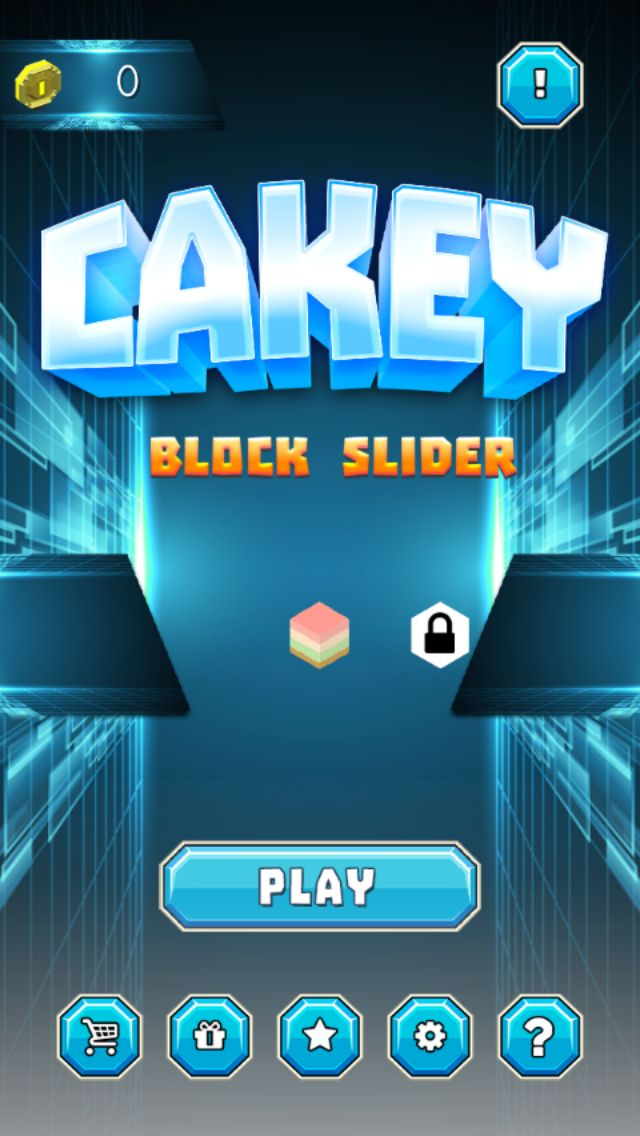 Cakey Block Slider - Buildbox Template Screenshot 1