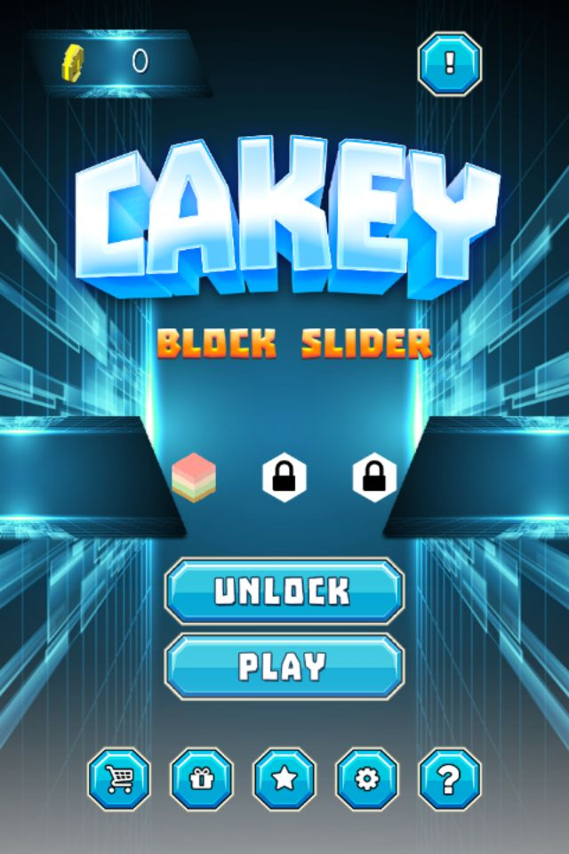 Cakey Block Slider - Buildbox Template Screenshot 4