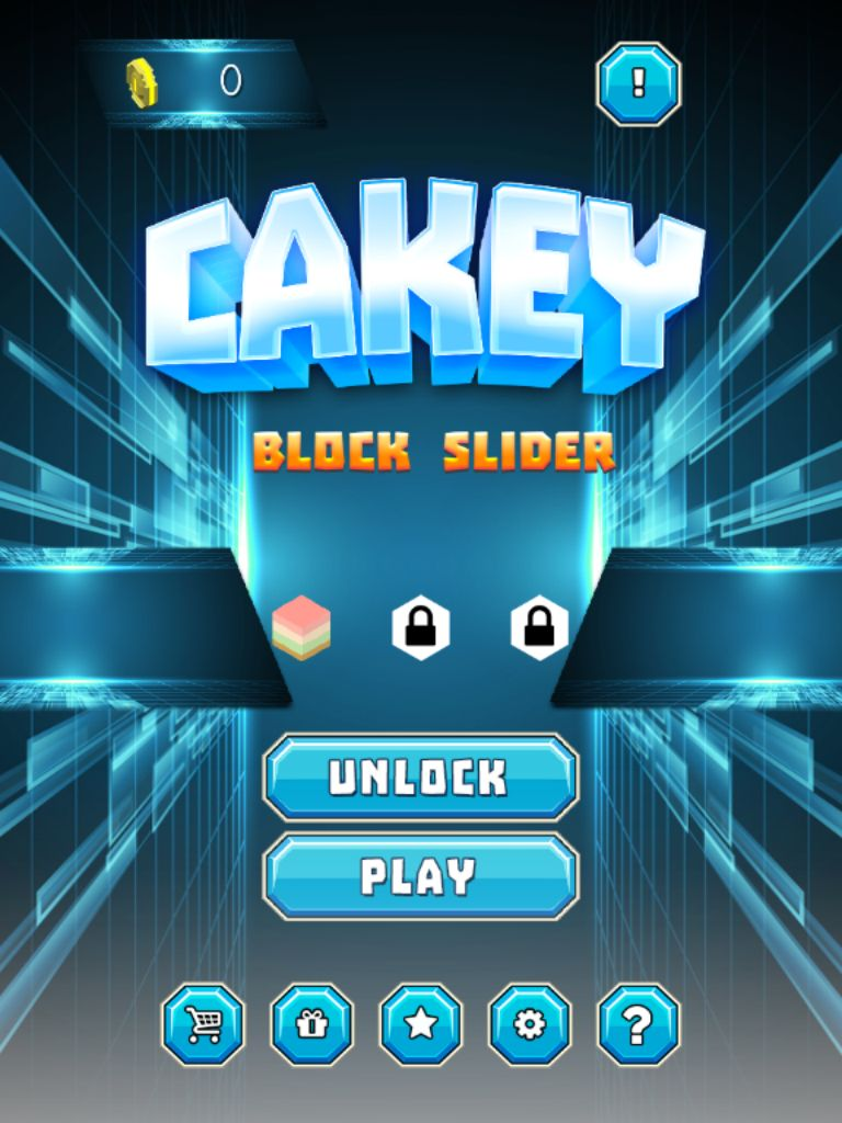 Cakey Block Slider - Buildbox Template Screenshot 7