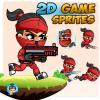 redgirl-ninja-2d-game-sprites