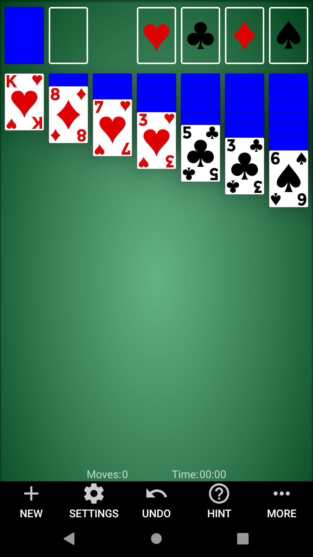 Classic Solitaire - Android Source Code Screenshot 1