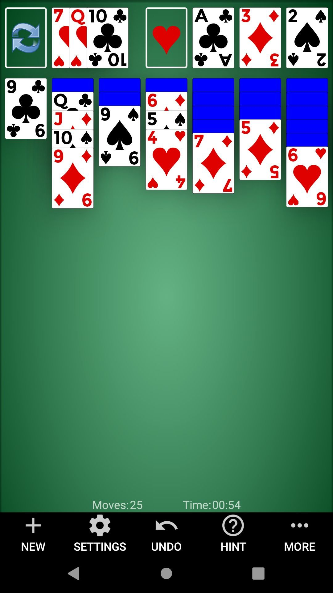 Classic Solitaire - Android Source Code Screenshot 2