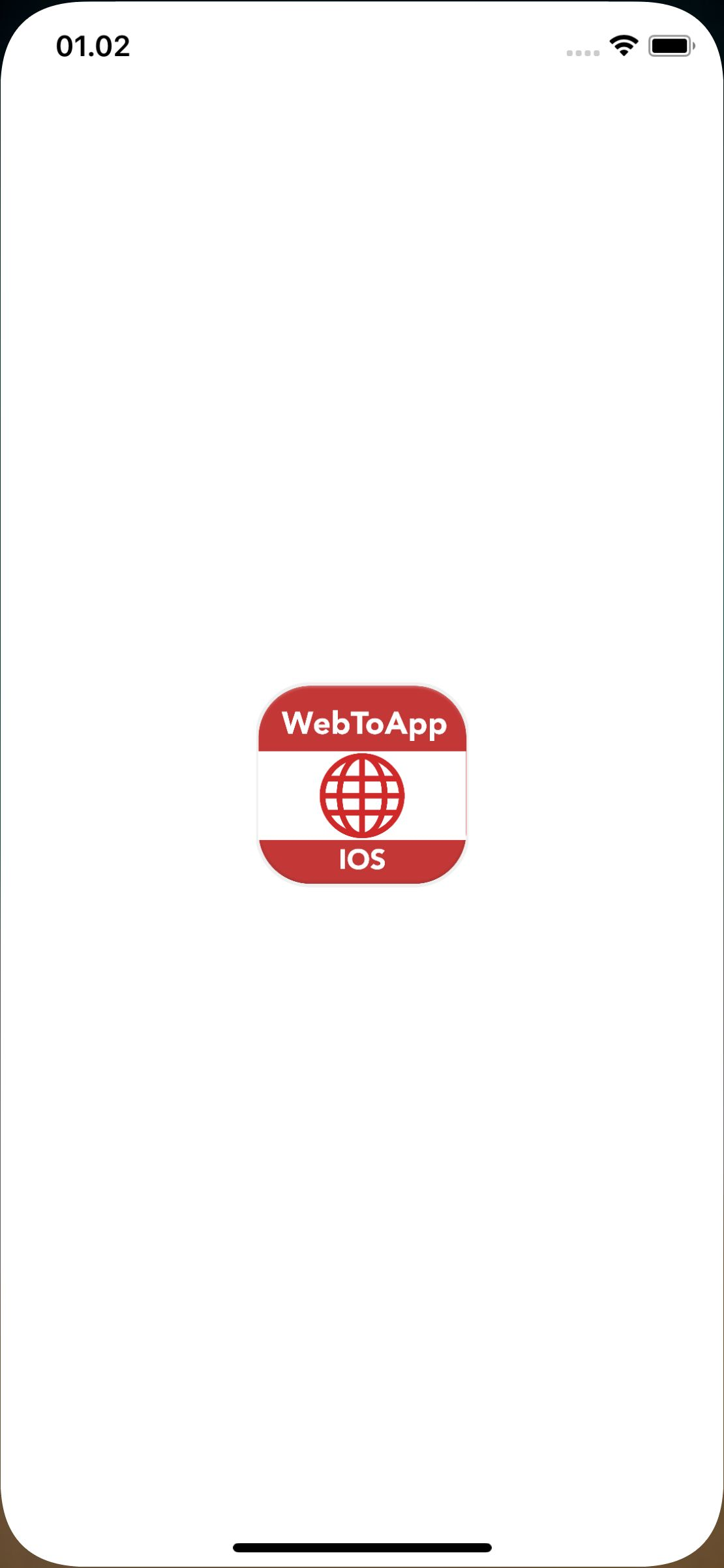 Web2App - iOS Mobile App In Swift Xcode Screenshot 2