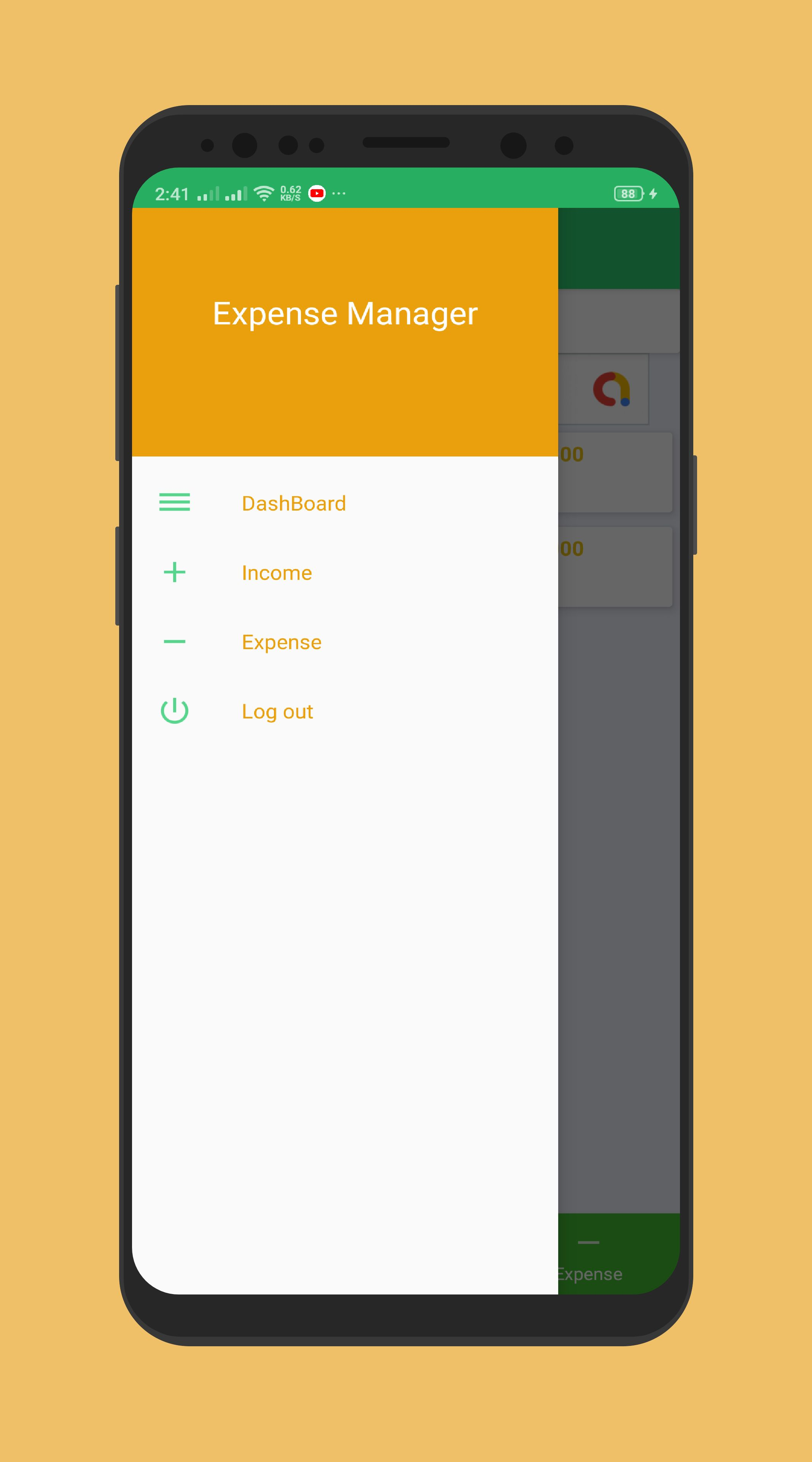 Expense Manager - Android Source Code Screenshot 5