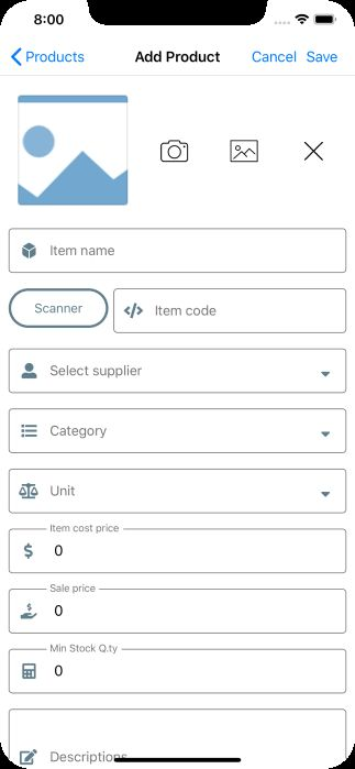 miniPOS - Mobile Point of Sale Application Xamarin Screenshot 9