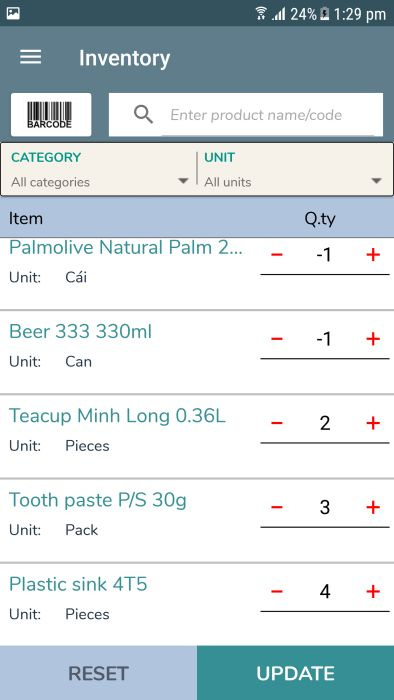 miniPOS - Mobile Point of Sale Application Xamarin Screenshot 28