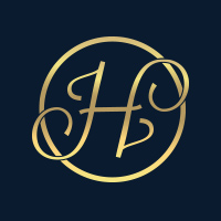 Letter H - luxury logo