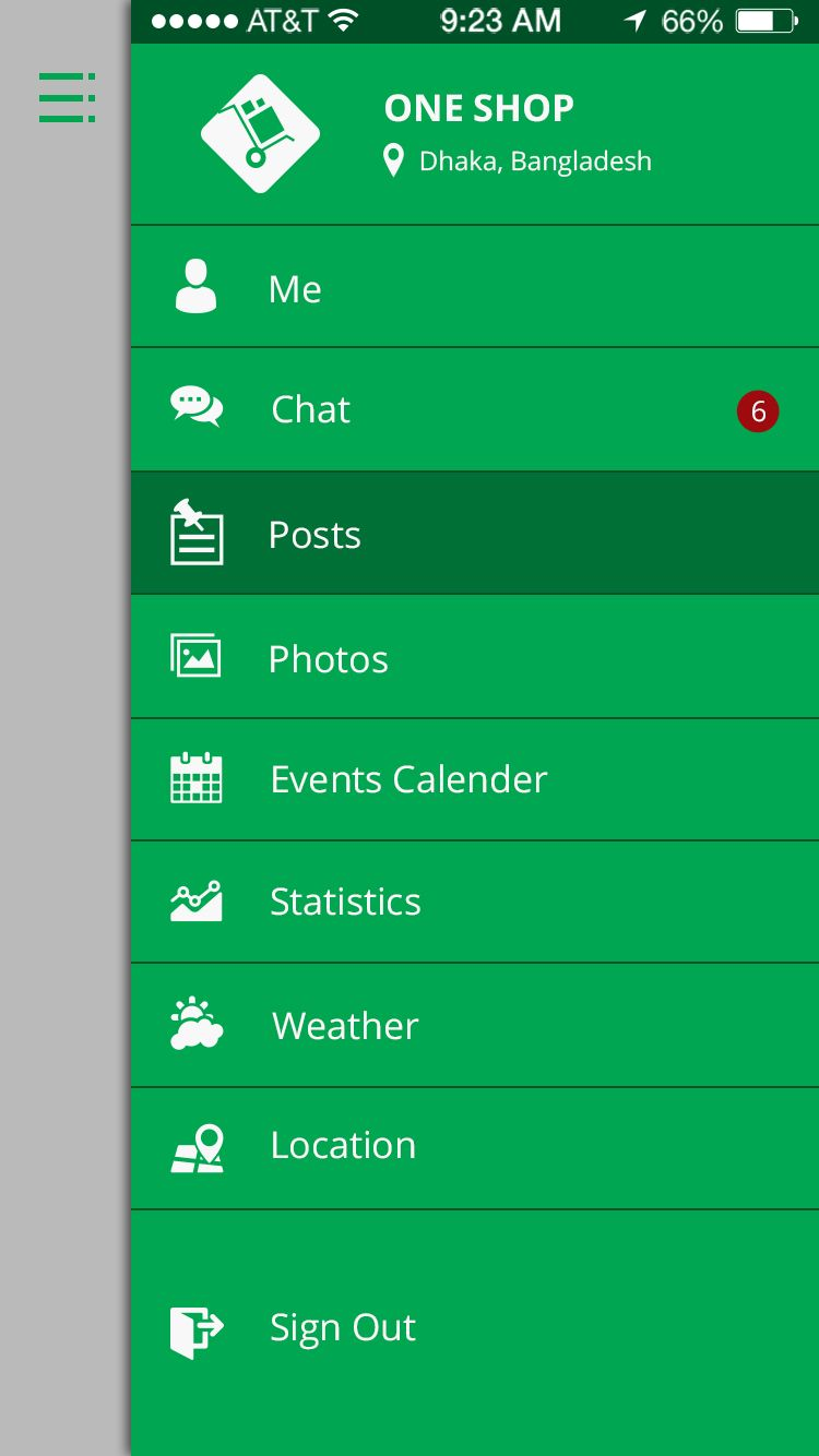 Online Shop & Social Communication iOS App UI Kit Screenshot 31