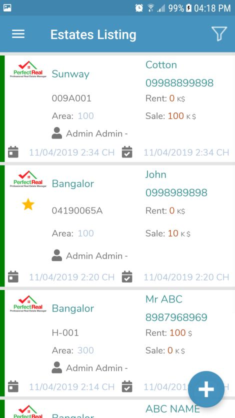 Real Estate Management Xamarin Without Backend Screenshot 9