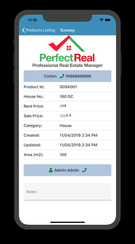 Real Estate Management Xamarin Without Backend Screenshot 10