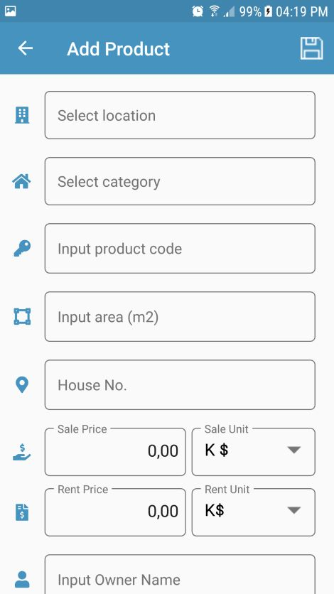 Real Estate Management Xamarin Without Backend Screenshot 13